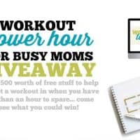 HEALTHY LIFE | WORKOUT | GIVEAWAY | EXERCISE | BUSY MOM | WORKING MOM