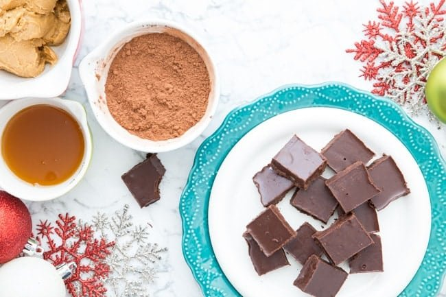 VEGAN DARK CHOCOLATE FUDGE | DAIRY-FREE | DESSERT | HOLIDAYS | GUILT FREE