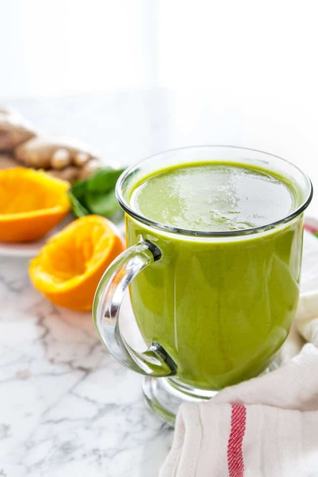 GREEN JUICE | SMOOTHIE | HOT DRINK | ANTIOXIDANT | VITAMIX | HEALTHY RECIPE