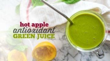 GREEN JUICE | SMOOTHIE | HOT DRINK | ANTIOXIDANT | VITAMIX | HEALTHY RECIPE