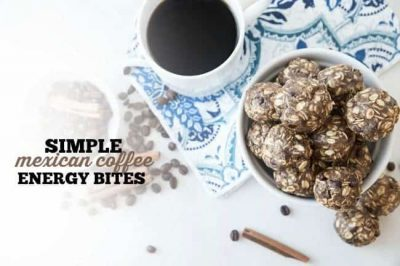 Simple Mexican Coffee Energy Bites