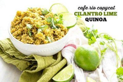 Copycat Cafe Rio Cilantro Lime Quinoa (Instant Pot or Stovetop)