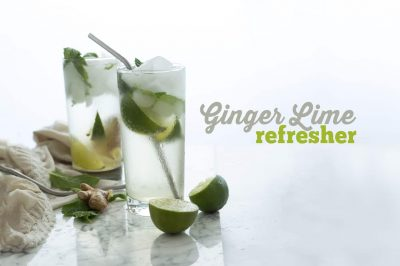 Ginger Lime Refresher