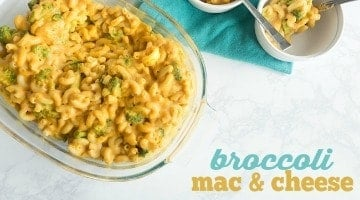 Broccoli Mac & Cheese (Vegan)