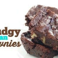 FUDGY VEGAN BROWNIES | VEGAN DESSERT | EASY RECIPE | PLANT-BASED