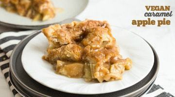 Vegan Caramel Apple Pie