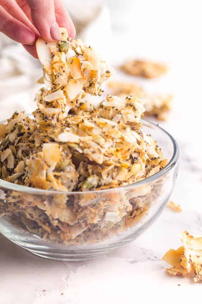TOASTED COCONUT CLUSTERS COSTCO FAVORITE THAT YOU CAN MAKE FROM HOME!