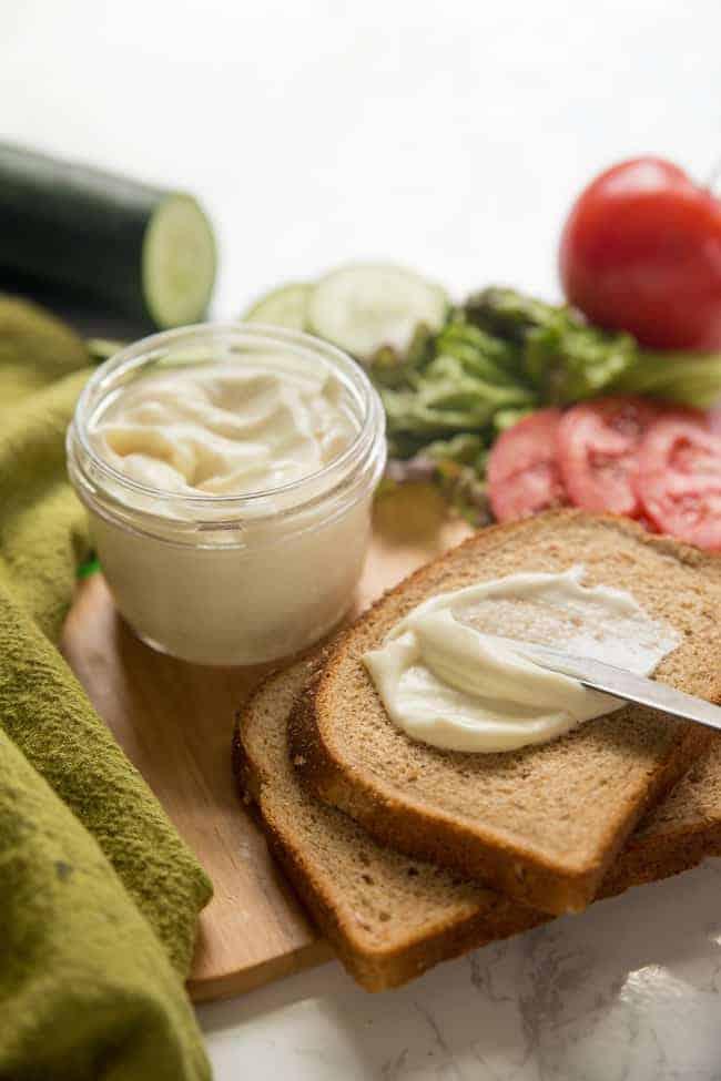Vegan mayo sandwich spread