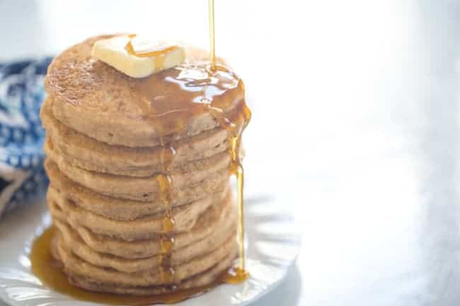 Vegan Pancakes are way easier than you may think and a total staple in your plant-based diet.
