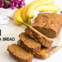 A healthy vegan banana bread recipe is exactly what you need for a healthy snack.
