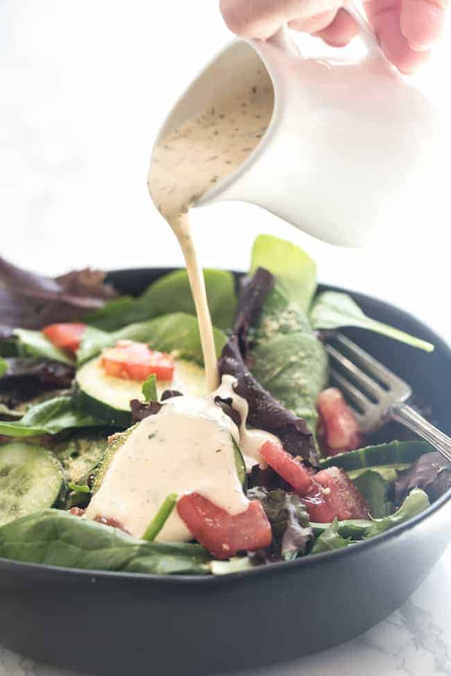 Vegan Ranch Dressing Happy Food Healthy Life