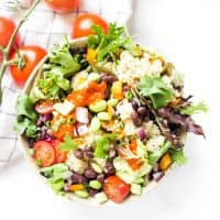 Loaded Quinoa Black Bean Salad
