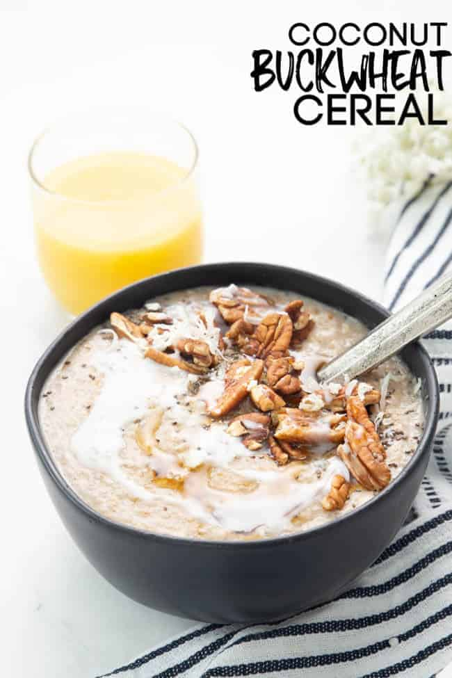This will show you exactly how to make buckwheat cereal the best and most creamy way possible!
