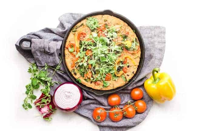 SKILLET VEGAN BREAKFAST CASSEROLE RECIPE