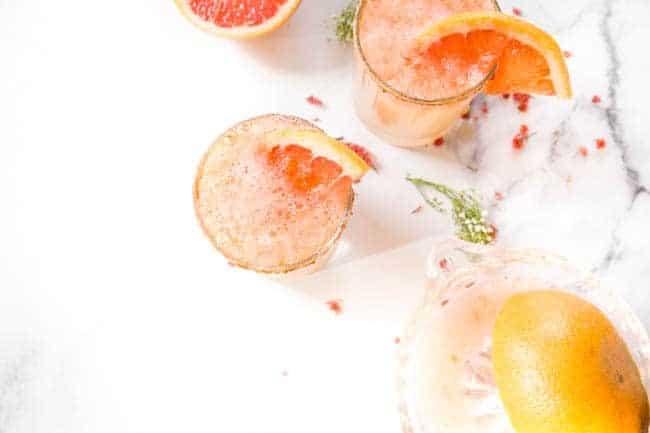 Pink Grapefruit Vodka Cocktail Recipe