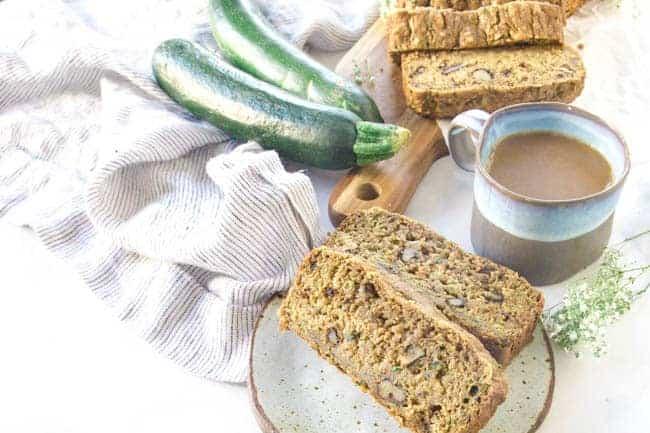 The best Moist vegan zucchini bread