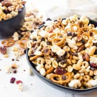 SWEET & SALTY CROCK POT HEALTHY TRAIL MIX