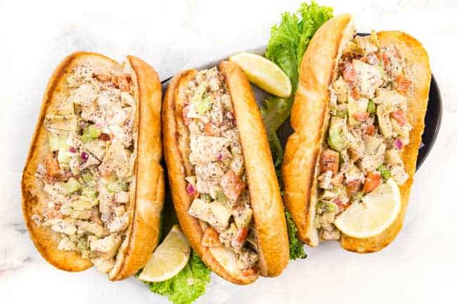 vegetarian lobster roll to please all your meatless seafood cravings