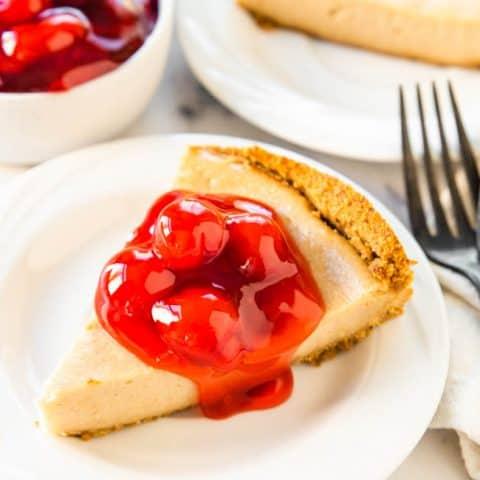VEGAN CHEESECAKE RECIPE - the best vegan cheesecake you'll ever taste!