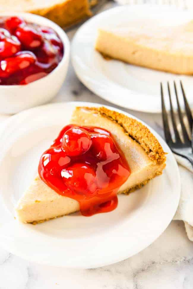 VEGAN CHEESECAKE RECIPE - the best vegan cheesecake you'll ever taste!