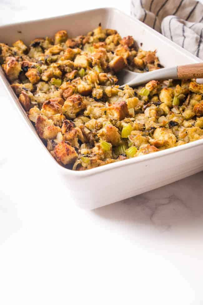 THE BEST VEGAN STUFFING RECIPE