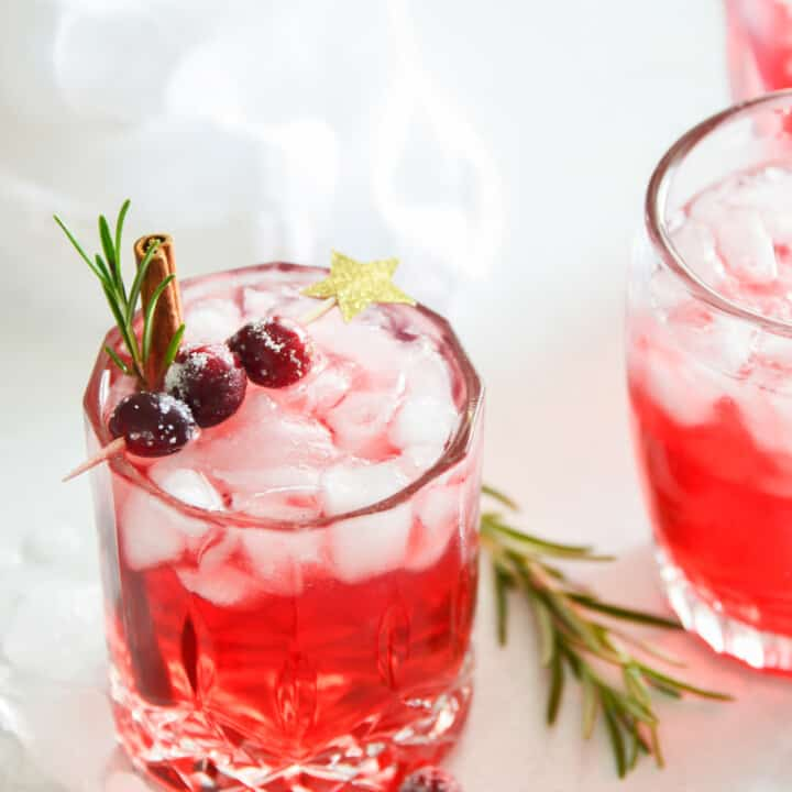 CRANBERRY WHISKEY SOUR RECIPE
