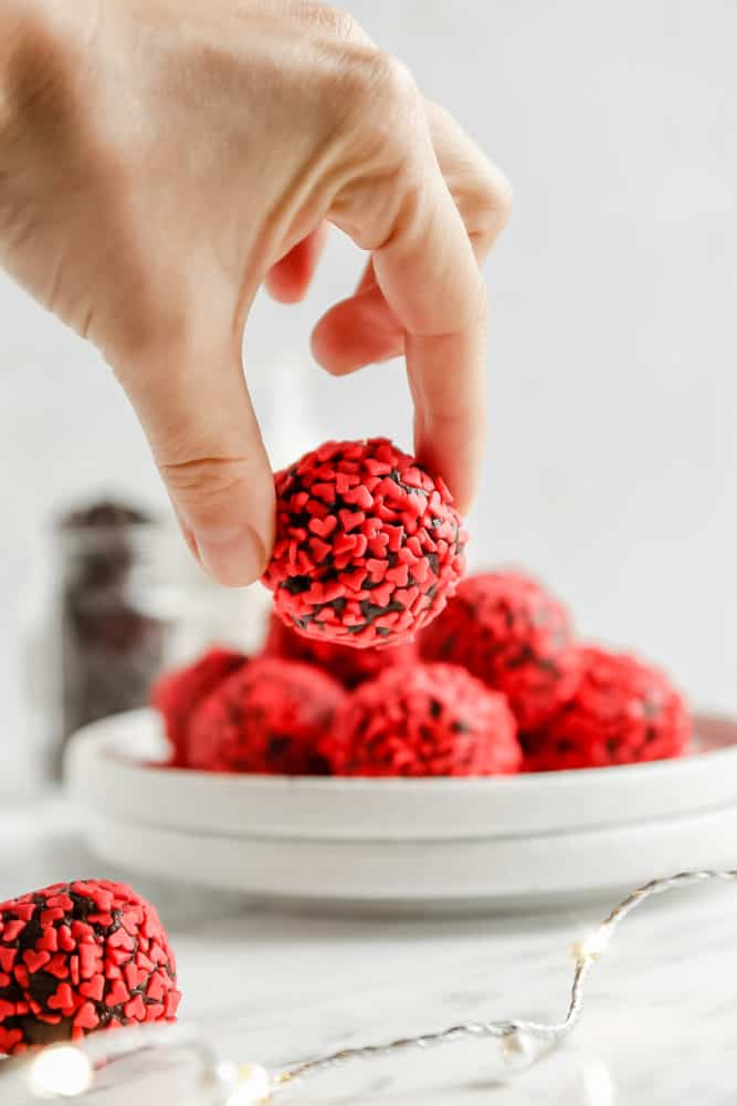 vegan chocolate balls