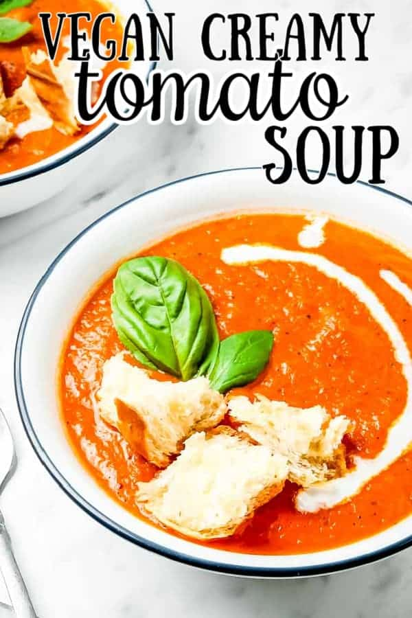 creamy vegan tomato soup recipe