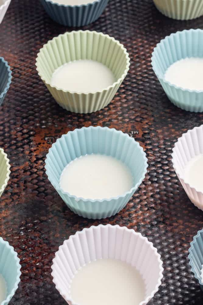 coconut butter in cups