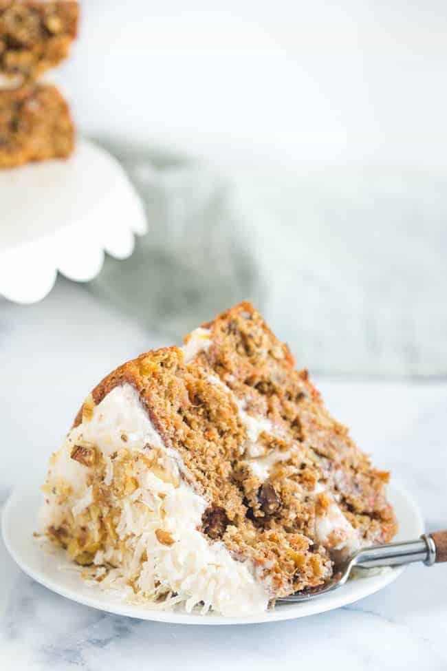 take a bite out of this vegan carrot cake recipe