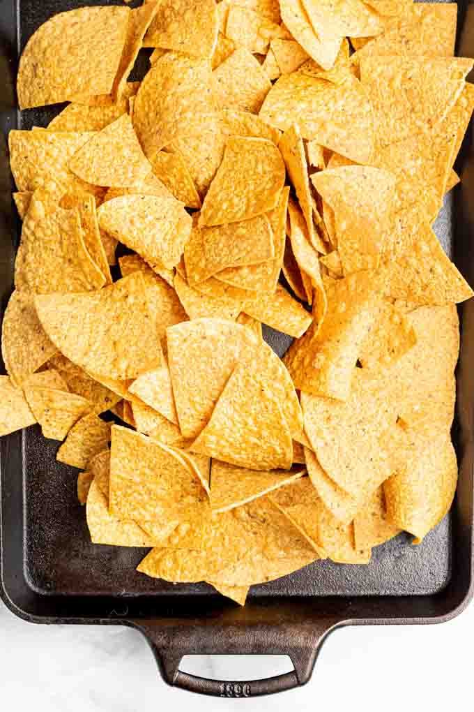 tortilla chips for vegan nachos