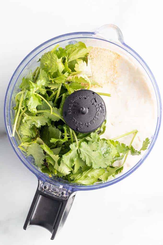 Crema for Vegan Taquitos