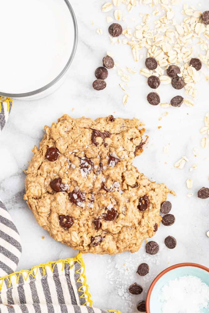 single serve oatmeal cookie