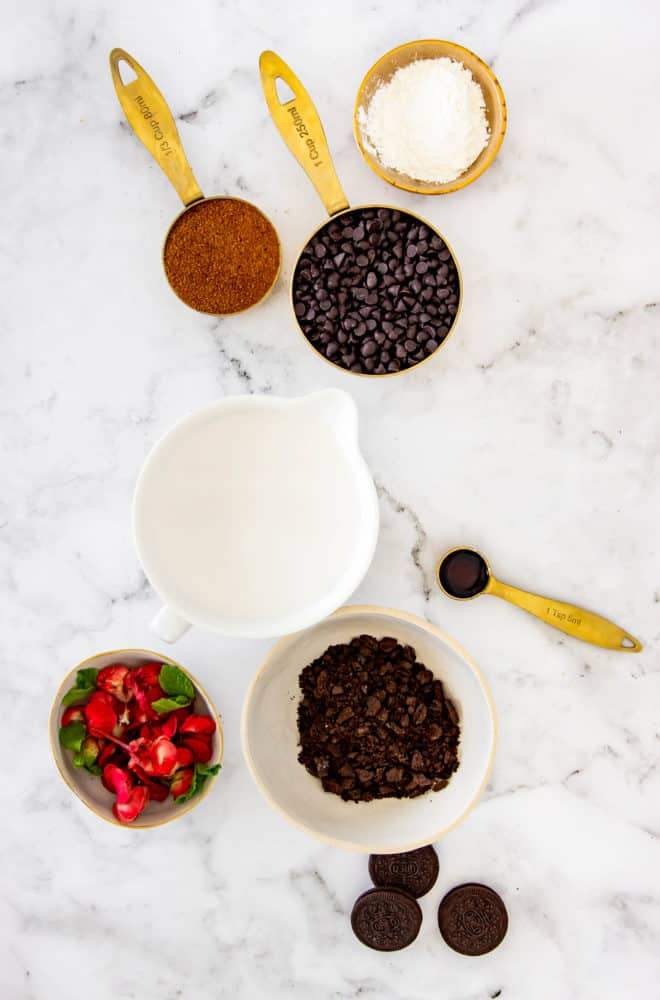 ingredients for dirt cup recipe
