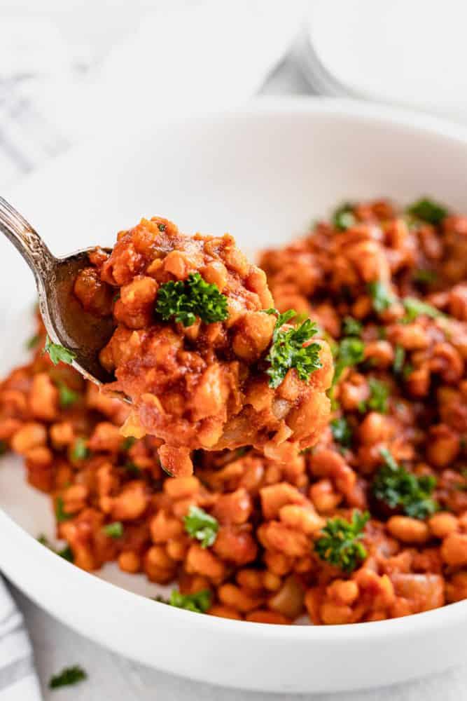 vegetarian baked beans recipe