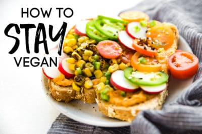 how to stay vegan