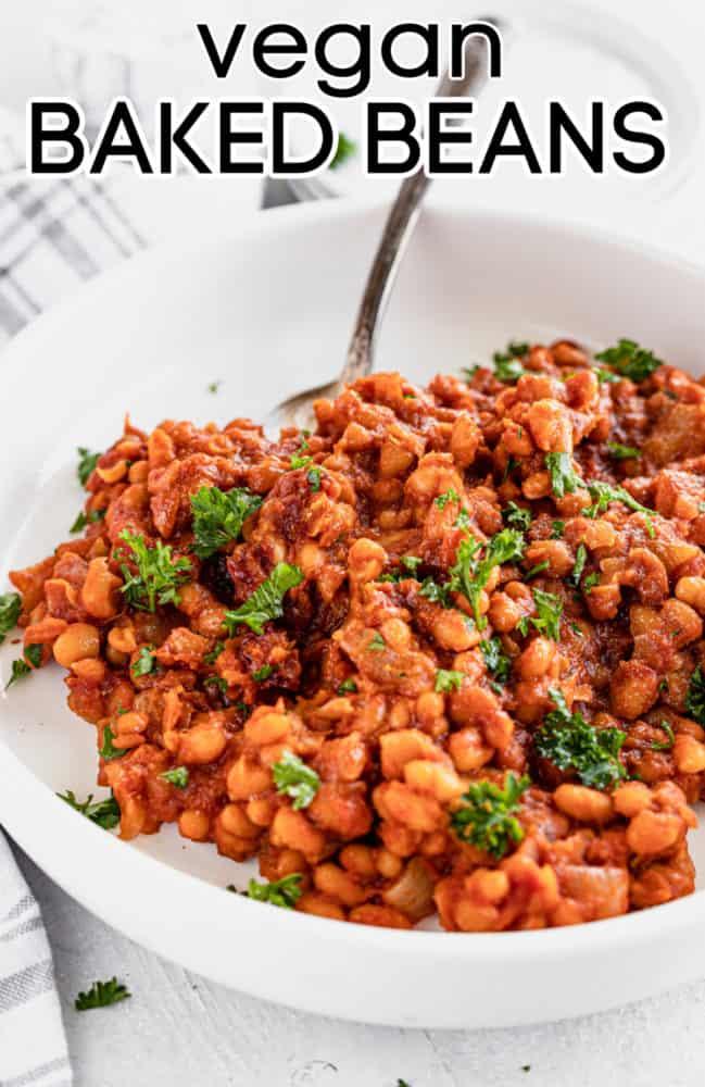 vegan baked beans recipe