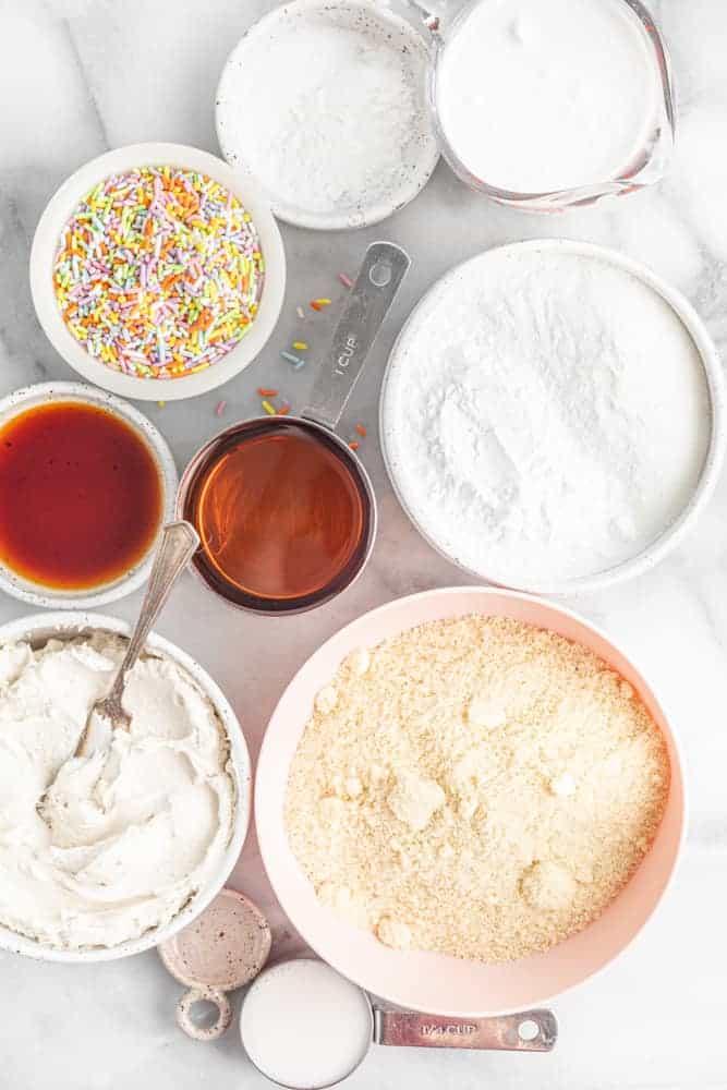 ingredients needed for vegan birthday cake