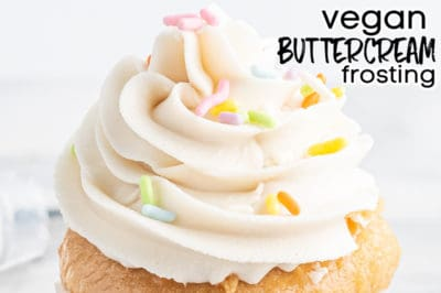 vegan buttercream frosting